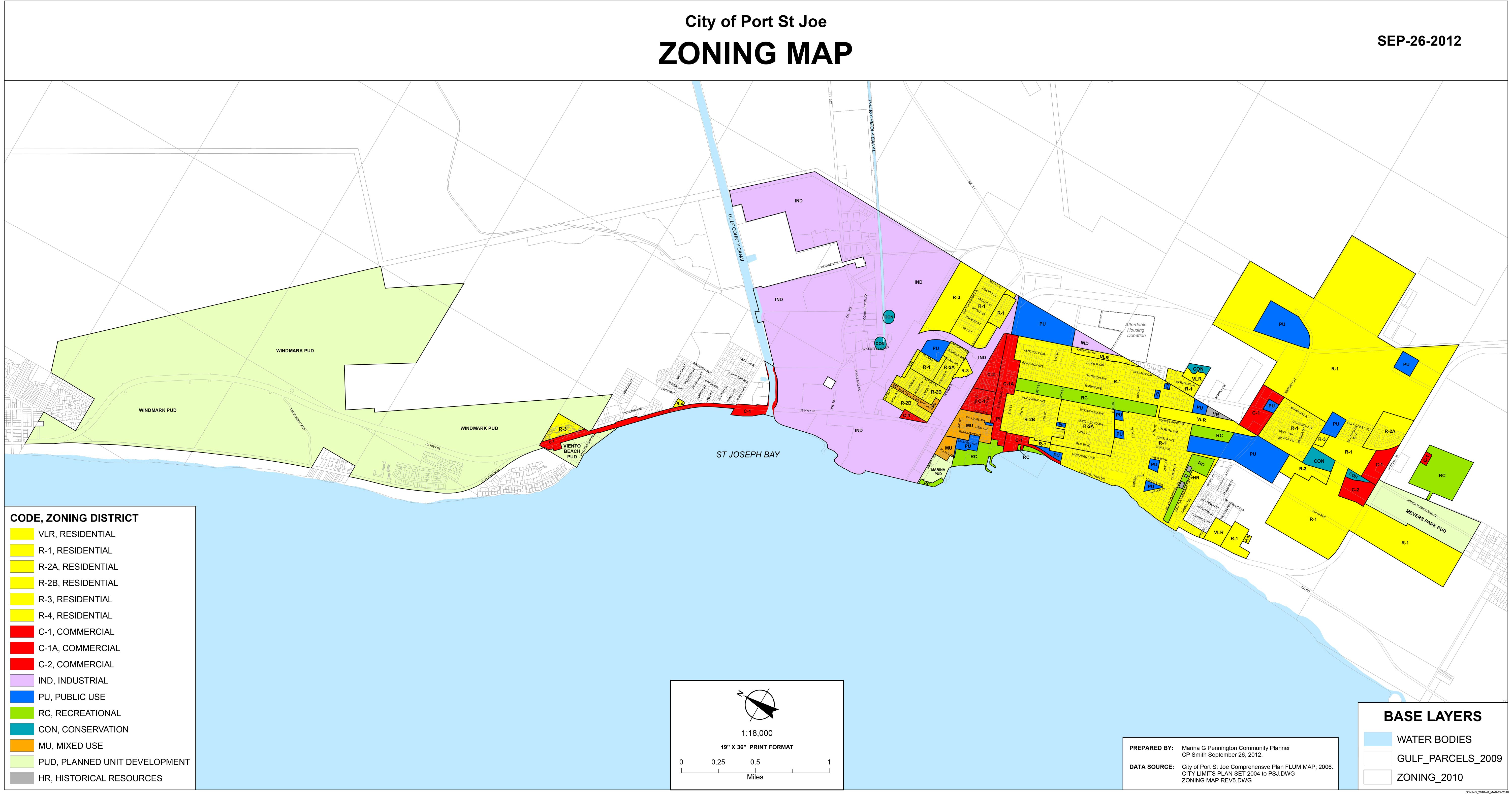 City Zoning Map City of PSJ Zoning Map | 98 Real Estate Group